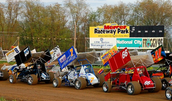 Racing returns to Mercer Raceway Park this Friday & Saturday for the Summer Nationals (Rick Rarer Photo)
