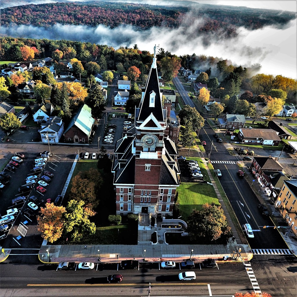 AERIAL OF CLARION COURTHOUSE Main Street, Clarion Submitted By Michael Shaw