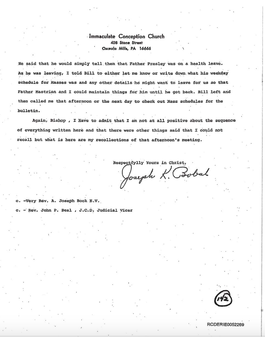 Clergy sexual abuse adam horowitz sexual abuse blog ic letter 3 altavistaventures Image collections