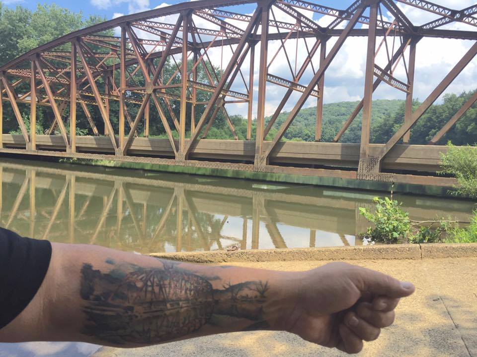 Nebraska Bridge Tattoo