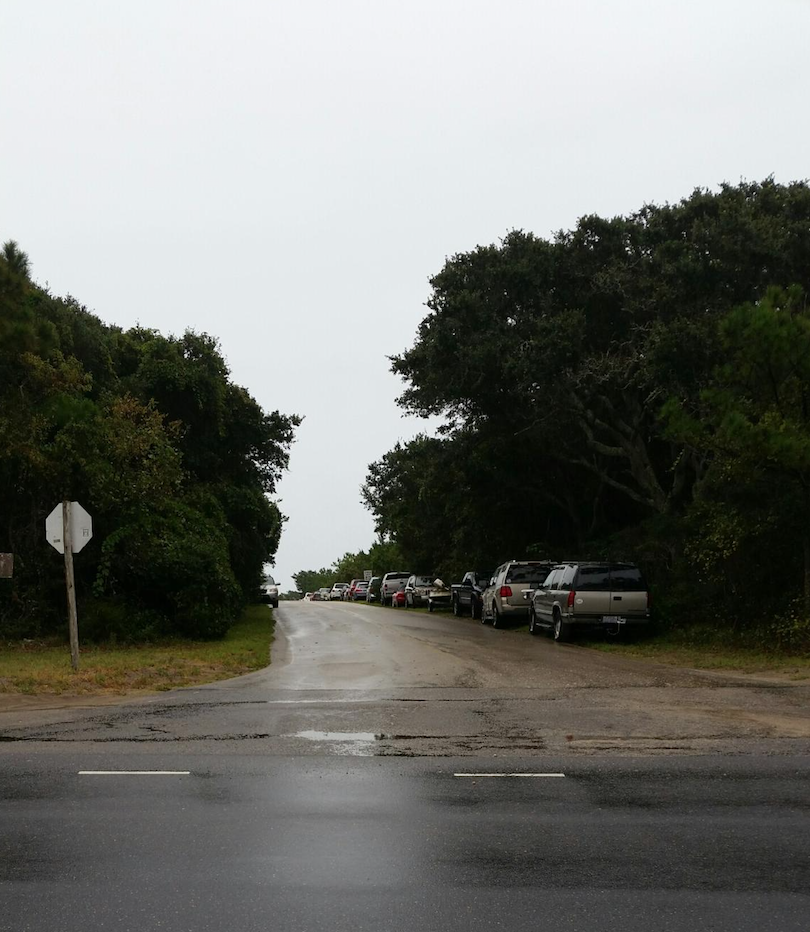 Park Road near airport