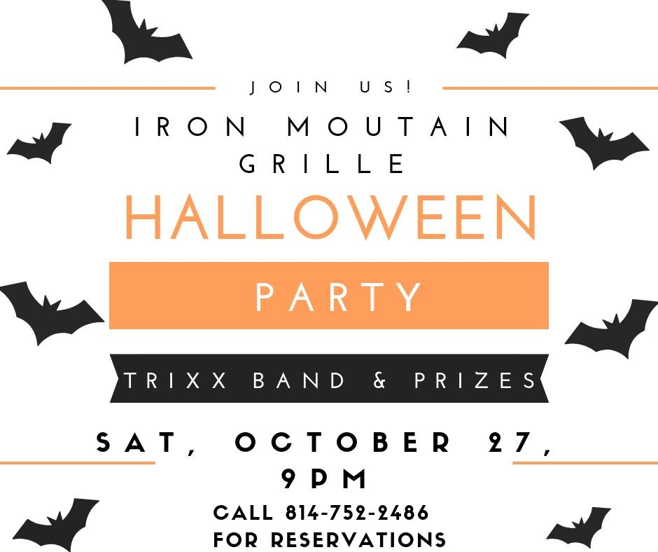 Iron Mountain Grille party