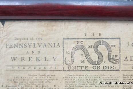 Pre-Revolution-newspaper-donated-to-New-Jersey-Goodwill