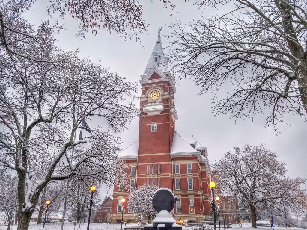 Clarion County Courthouse. Photo by Tim Champion.
