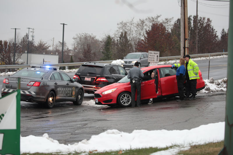 Emergency Personnel Respond to Two-Vehicle Crash at Route 68 Perkins