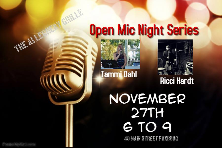 Open Mic Night Series Allegheny Grille Nov 27