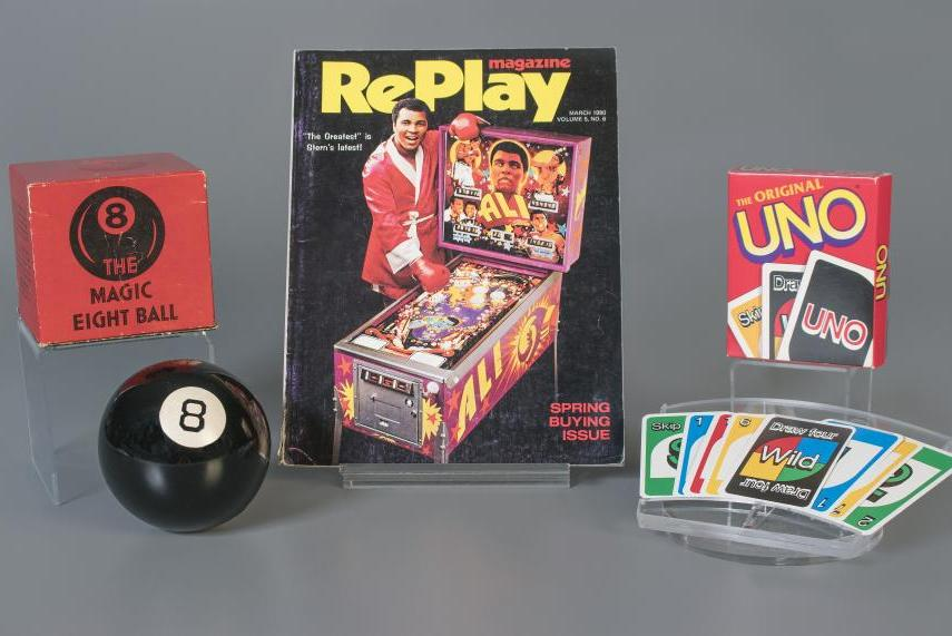 Toy-Hall-of-Fame-inducts-Uno-Magic-8-Ball-and-pinball