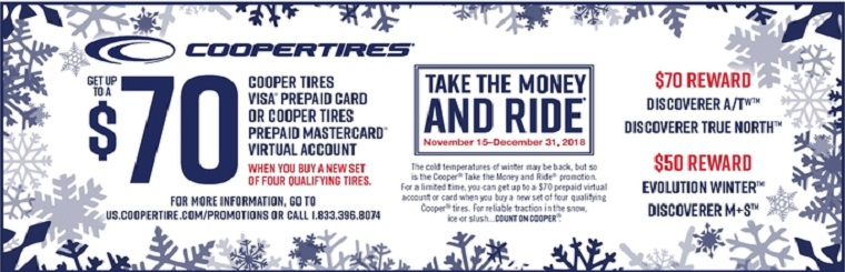 Sponsored Content Cooper Tire Snow Tires Rebate Kicks Off Today At