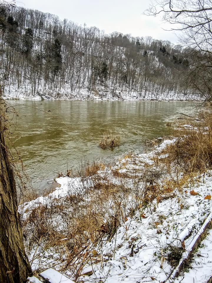 Chilly day by the Allegheny River. Submitted by David Proper.