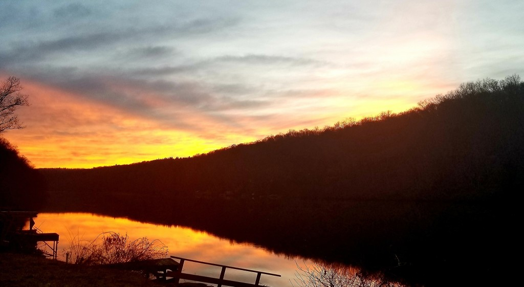 Clarion River at sunset. Submitted by  Gretta Thompson Weaver.
