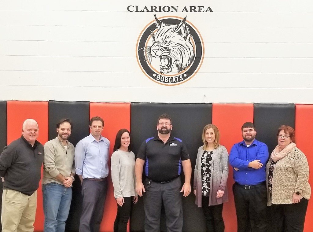 Clarion School Board members