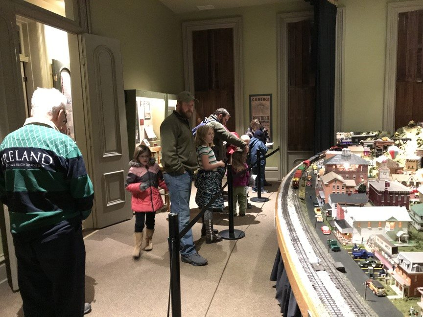 Bowdish Model Railroad at the Jefferson County History Center.