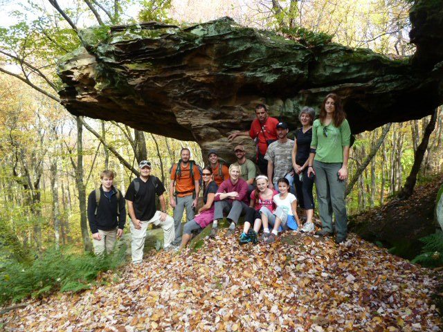 Umbrella Rock in Elk County.