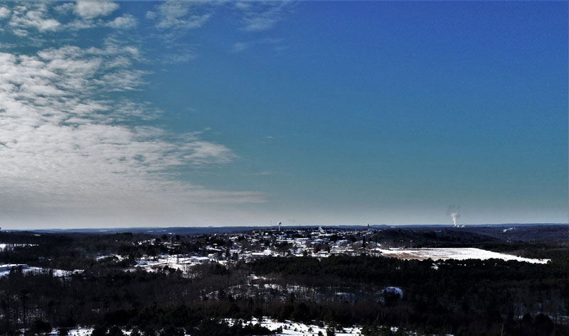 Crystal clear 200' above Clarion. Courtesy of Shaw Aerial Video Photography.