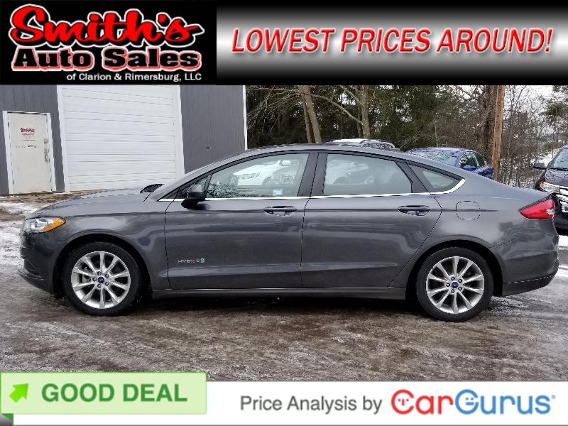 smiths Ford Fusion 2017