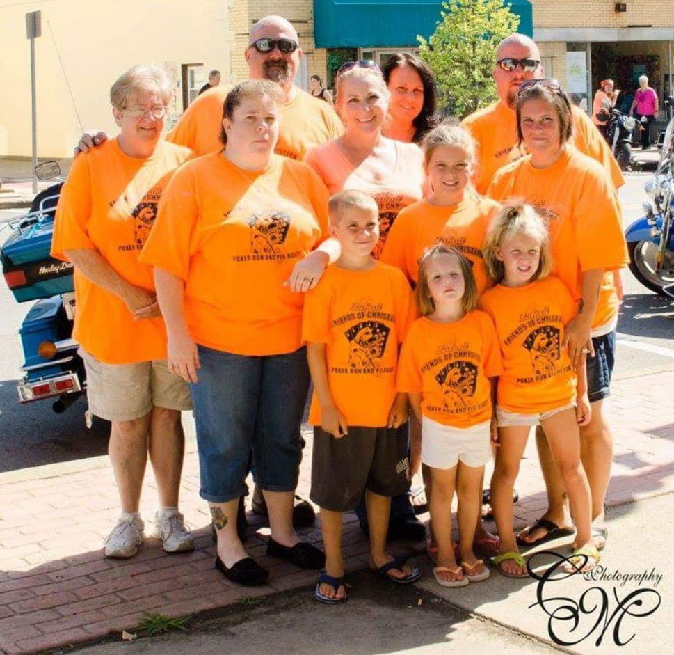 2016 recipients, the Smith family, whose daughters, Aiyanna and Heyden, suffer from a seizure disorder and a congenital heart condition.