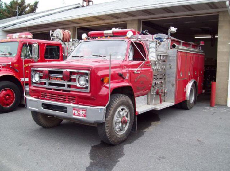 Donated truck from Strattanville VFC
