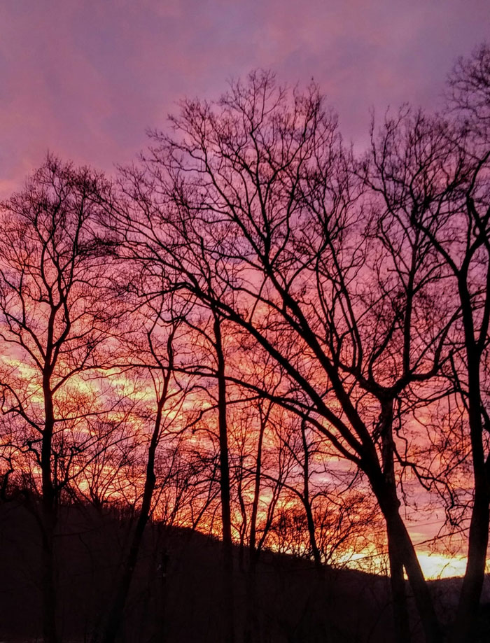 Sunset in Emlenton. Submitted by David Proper.