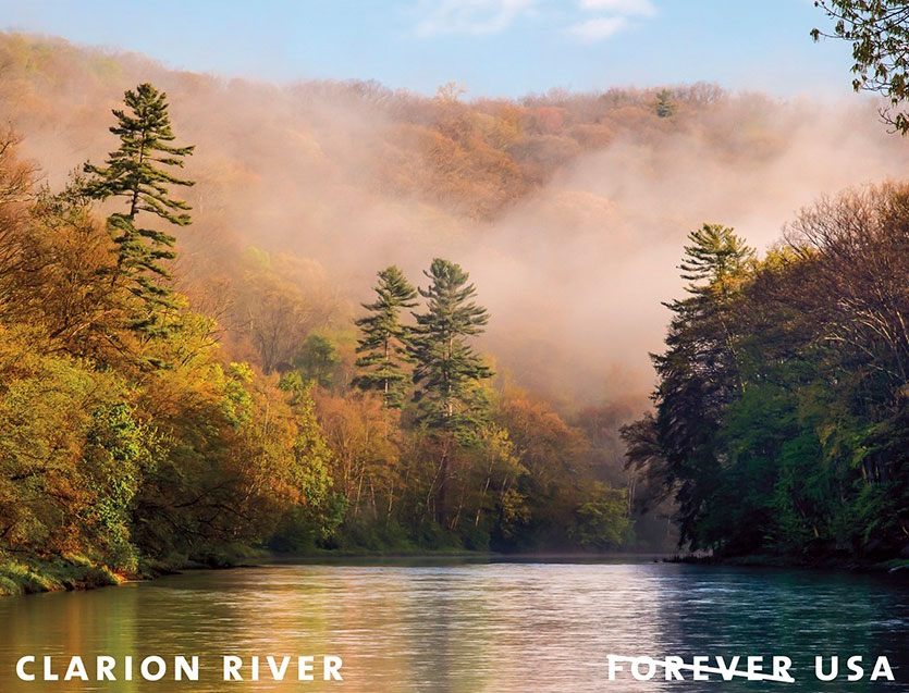 Postage Stamp Featuring Clarion River to Be Released in May