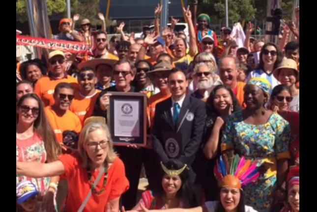 Drum-circle-sets-Guinness-record-with-77-nationalities-represented