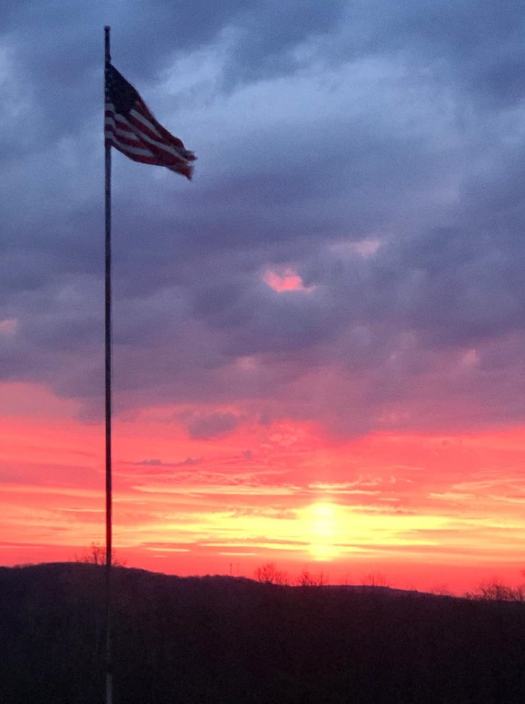 Photo captured in Kossuth. Submitted by Elizabeth Griffin.