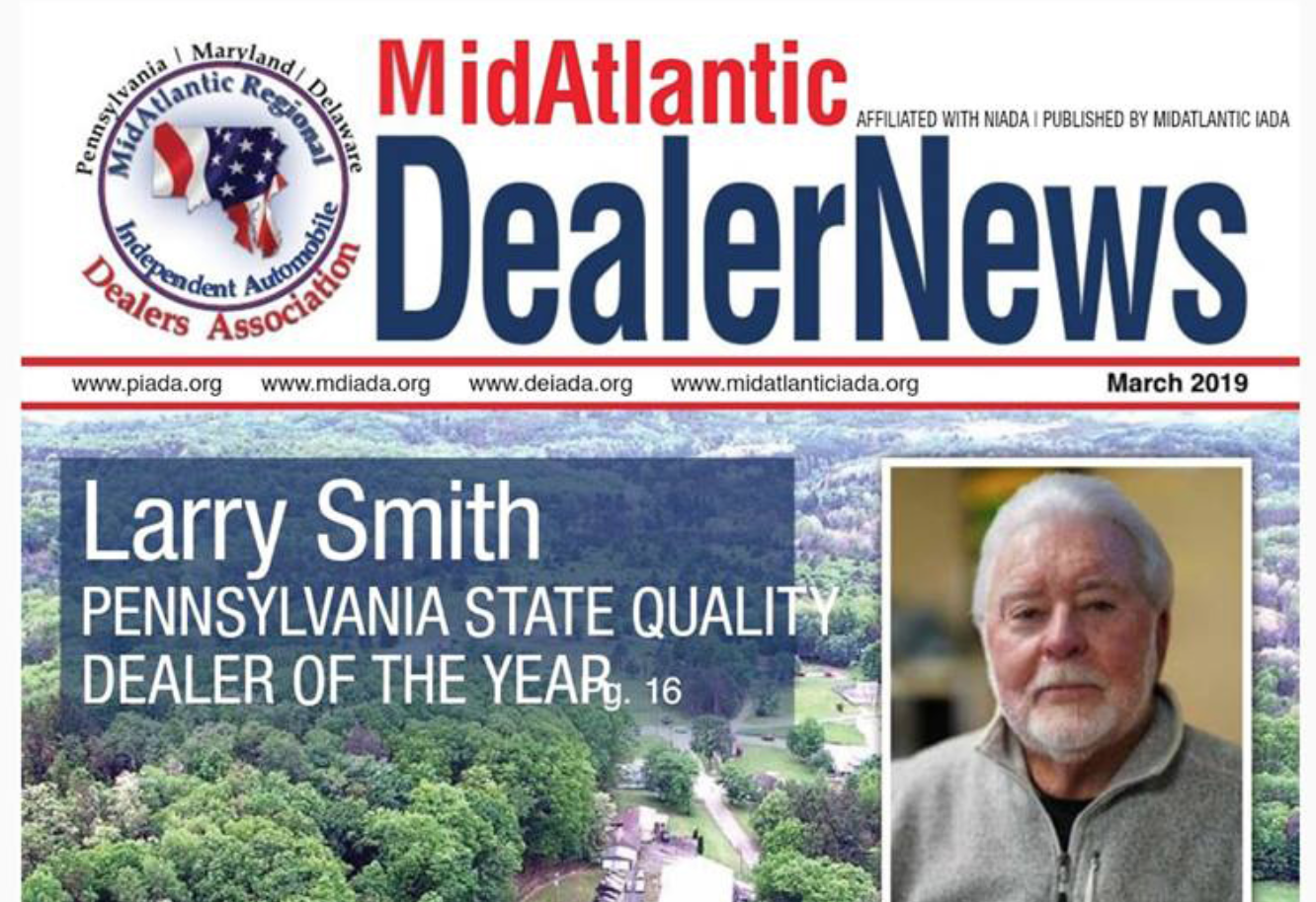 Smith's Auto Dealer of the Year