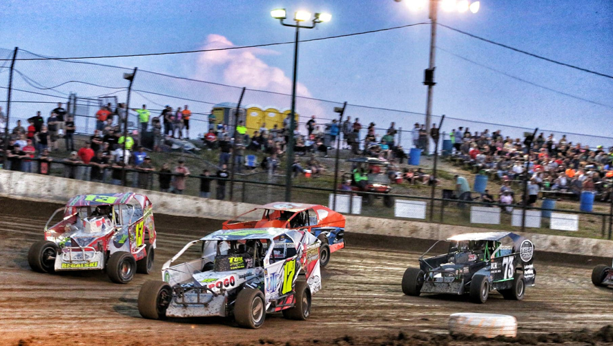 Thunder Mountain Speedway opens their season this Friday with the big block modifieds (Penny Kay Photo)