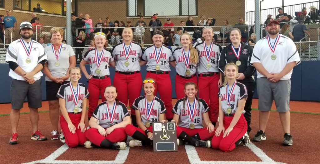 Clearfield Softball 2019 3A Champions