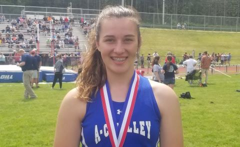 Kylee Eaton A-C Valley Shot Put