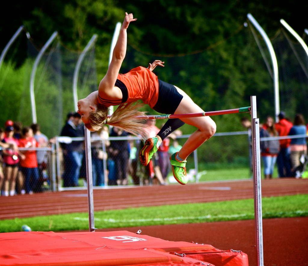 "Laken Lewis, of Clarion Area,  won the girls high jump on Thursday at 5'2"" at the Redbank Invitational.  Submitted by Matt Lerch."