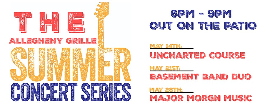 allegheny grill summer concert series