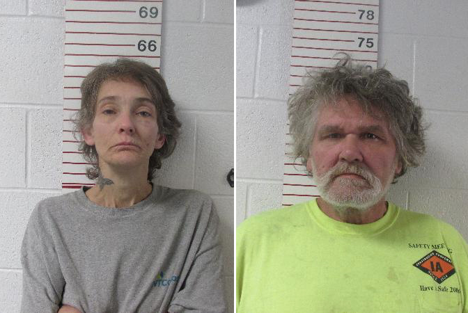 Couple Arrested for Meth Possession, Loaded Gun Due in Court
