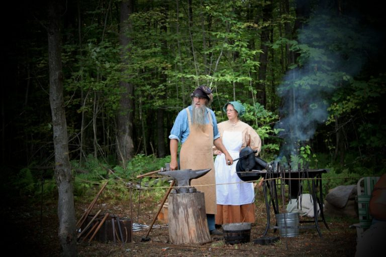 French and Indian War Encampment Reenactment Continues Today at Cook