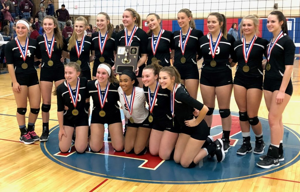 2018-Clarion-Volleyball-Champions