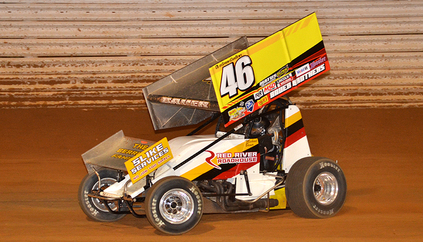 Michael Bauer in action at Port Royal Speedway for the first time (Rick Rarer Photo)