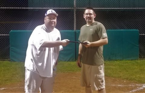 Clarion Little League Presidency Baton Passed