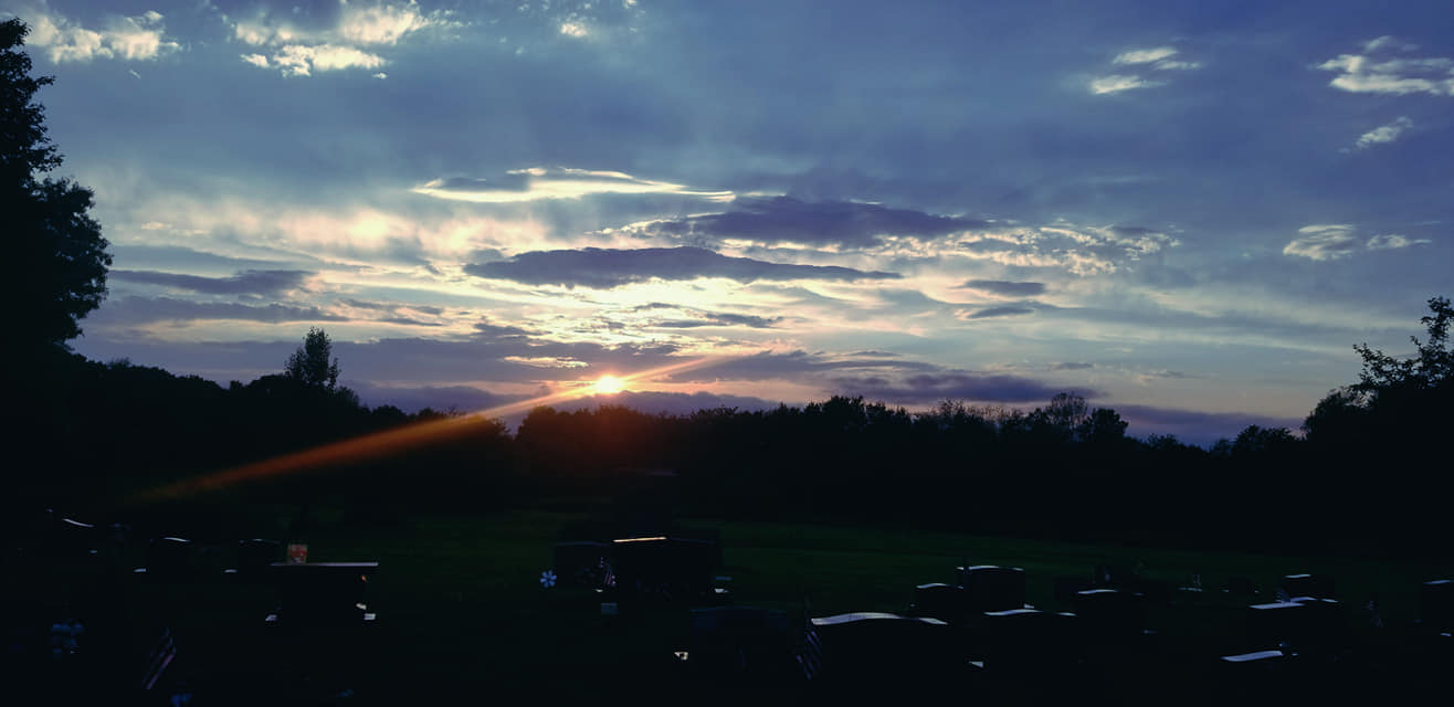 Beautiful sky over the Clarion Cemetery. Submitted by Darren Troese.