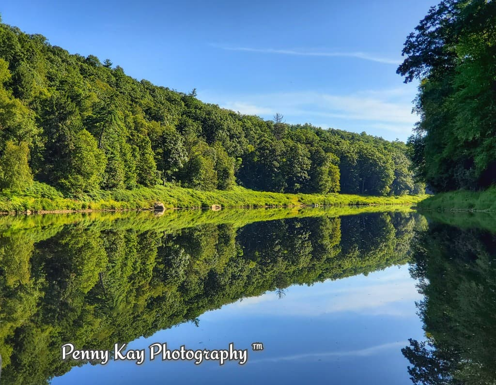 Along the Clarion River. Submitted by Penny Kay of Penny Kay Photography.