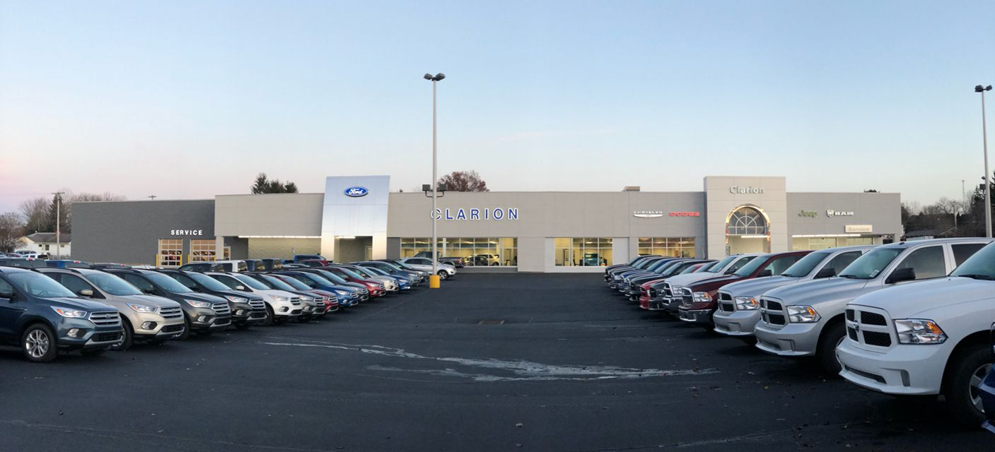 clarion ford building