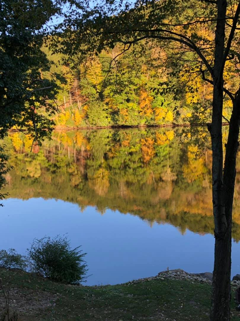 Along the Clarion River. Submitted by Angie Schwabenbauer.