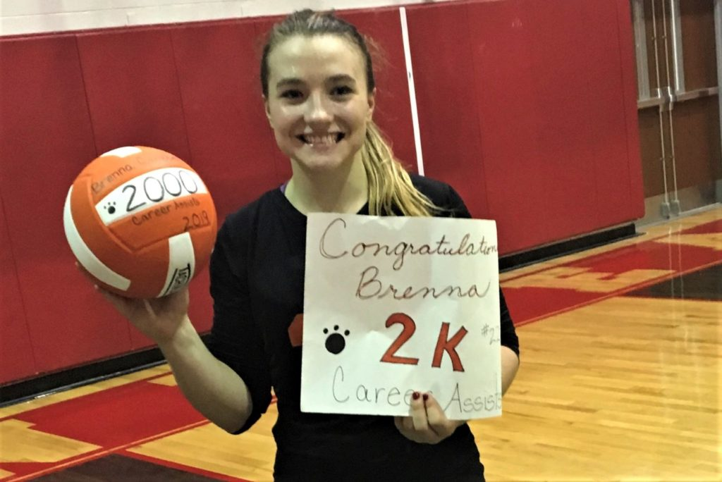 Brenna Campbell 2000 Assists Clarion