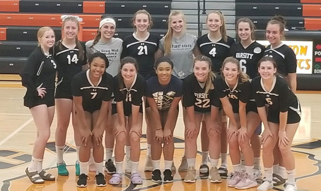 Clarion Volleyball KSAC Champs 2019