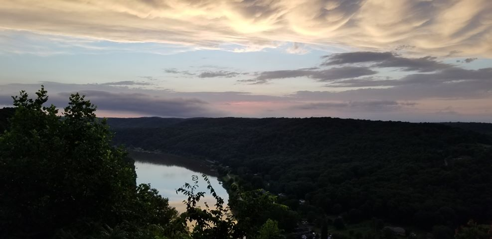 East Brady overlook. Submitted by Kristin Buzard Shick.