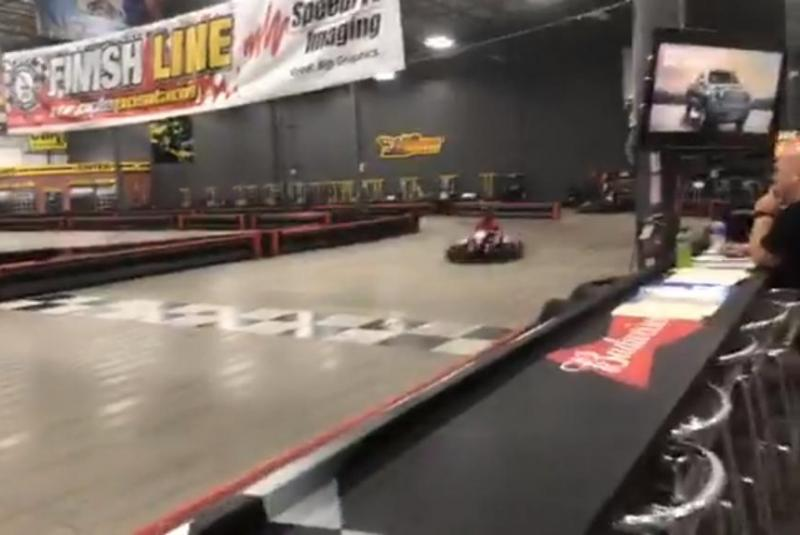 Go-kart-drives-546-miles-in-24-hours-for-Guinness-record
