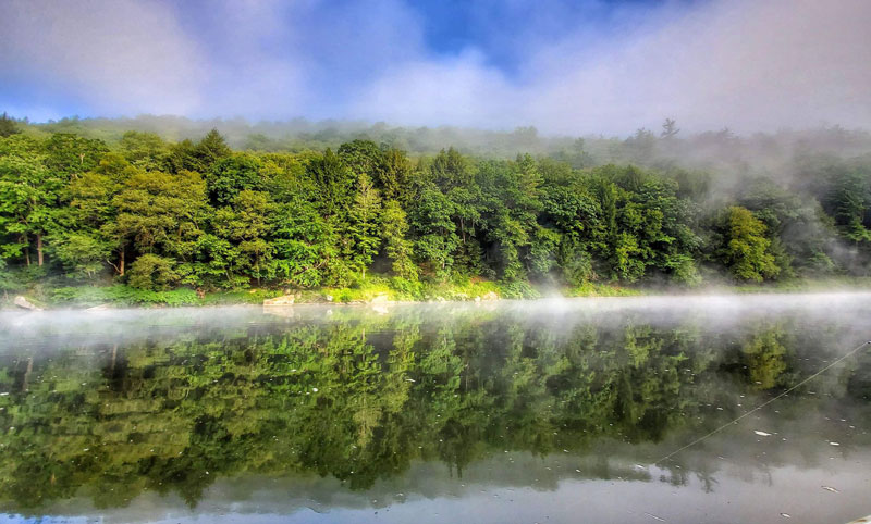 On the Clarion River. Submitted by Rodney Simpson.