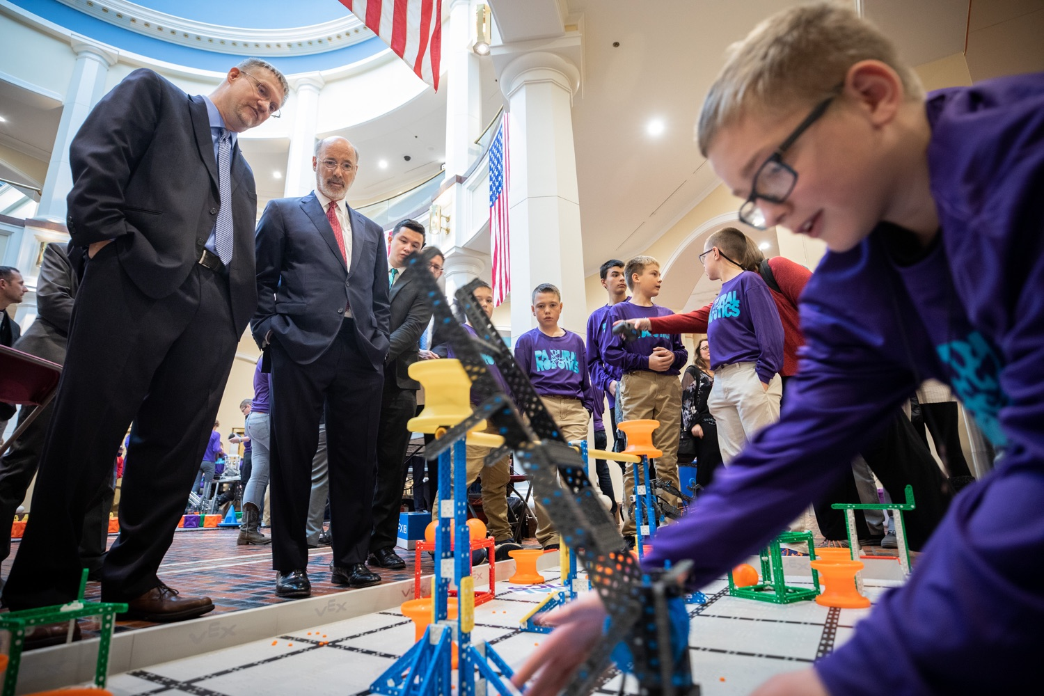 Governor Wolf and Rural Students Celebrate PAsmart Success for Science and Technology Education