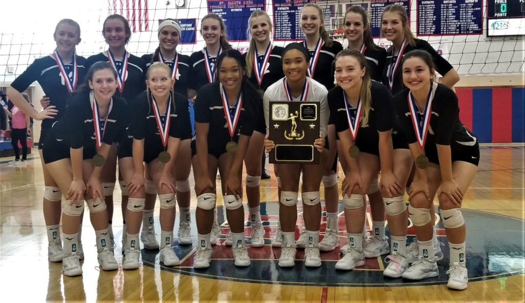 Clarion 2019 D9 Volleyball 1A Champs