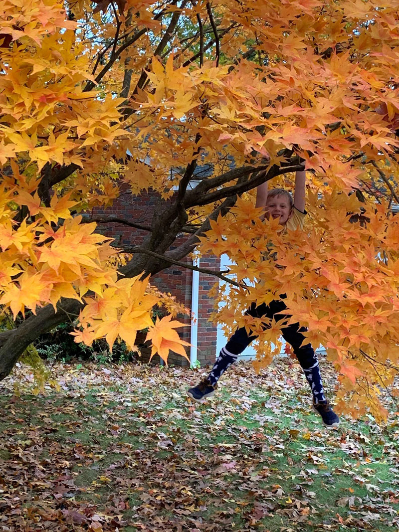 Fall fun in Clarion. Submitted by Briana Underhill.
