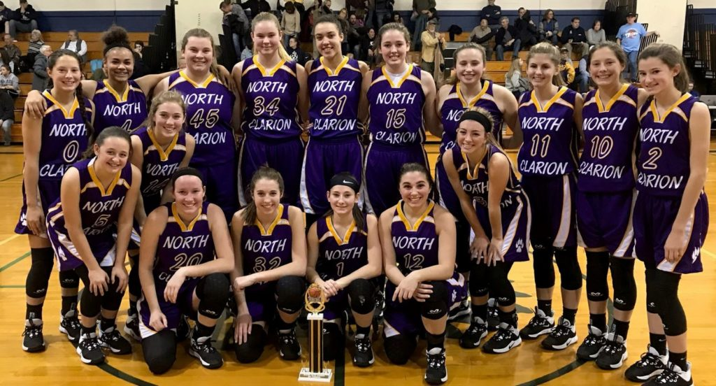 North Clarion Girls Brookville To. Champs 2019