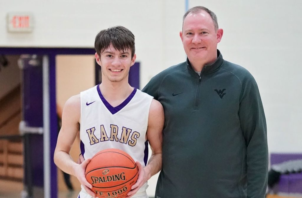 Chase Beighley and Dad David Karns City Holly Mead